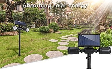 Lampade solari a led da esterno lm illuminazione giardino