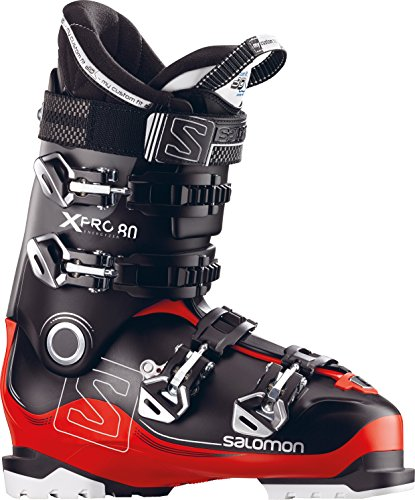 Salomon X-Pro 80 Ski Boots 2018 - 30.5/Black-Red-Anthracite