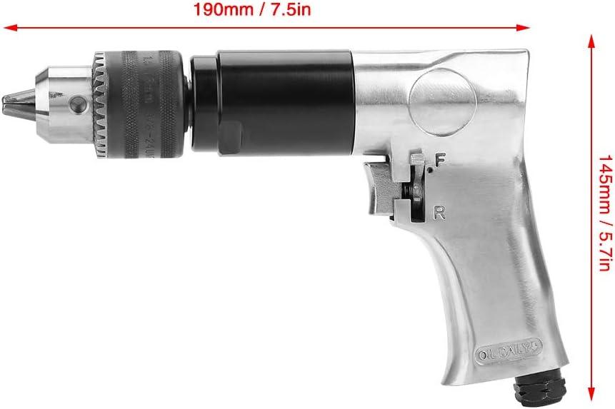 KP-554 Outil de forage pneumatique 1//2 pistolet pour perceuse pneumatique CW//CCW 900 tr//min