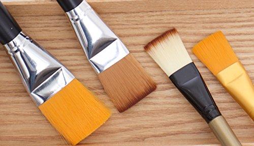 Hansderma Skinsoft Facial Mask Brush (4 Assorted)