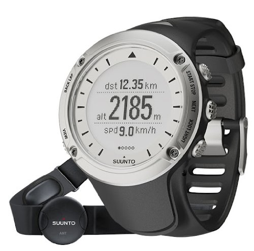 Suunto Unisex Ambit HR Silver Watch by Suunto