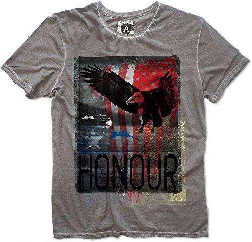 Amplified Honor T-Shirt, Größe:XXL;Farbe:charcoal