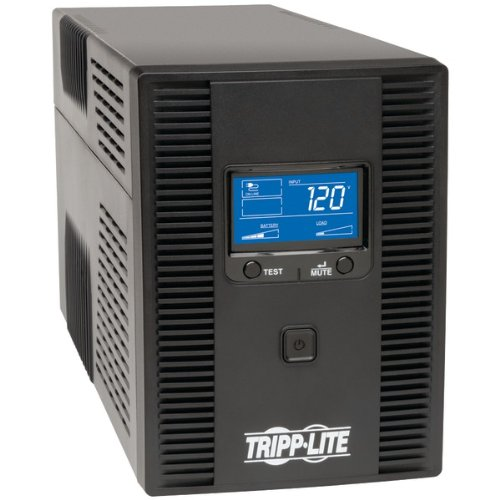 lcdt Smart Lcd Tower Line-Interactive 120V Ups With Lcd Display & Usb Port (1300Va) ()