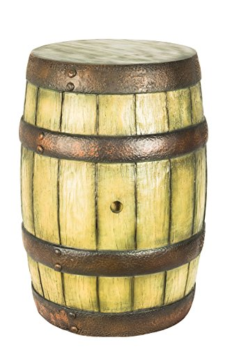 Queens of Christmas WL-WHBRL-36 Decorative Whiskey Barrel, 36
