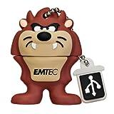 EMTEC Looney Tunes 4 GB USB 2.0 Flash Drive, Tasmanian Devil