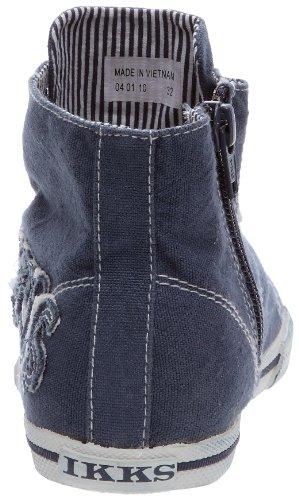 IKKS Ethan K Boot Canvas I00402 - Zapatillas de lona para niña Azul