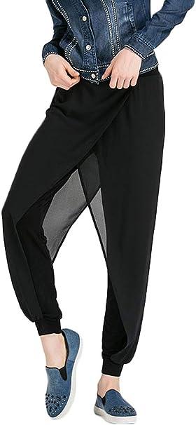 Amazon.com: AvaCostume Womens Chiffon Layer Yoga Harem Pants ...