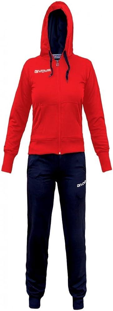 Givova Lady Chándal para Hombre Multicolor Rosso/BLU Talla:Medium ...