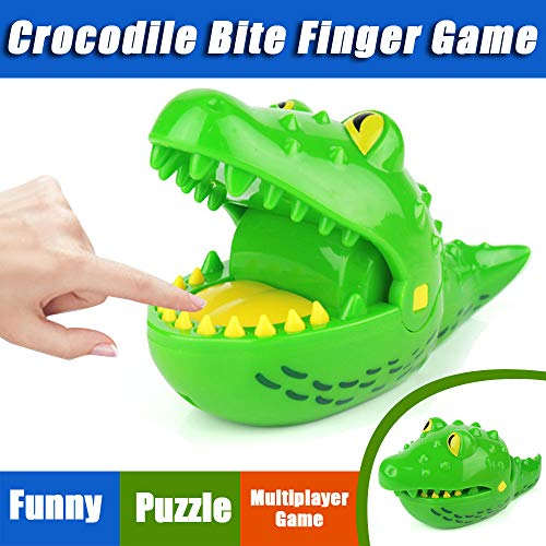 Crocodile Toys Clearance , Crocodile Biting Finger Game Mouth Dental Toys Funny Party Home Game Party Game for Adults and Kids ()