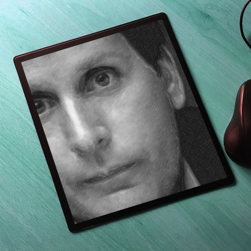 Seasons Emilio ESTEVEZ - Original Art Mouse Mat #js002