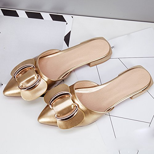 JYshoes Mules Or JYshoes JYshoes Mules Femme Or Mules Femme AAxqraP