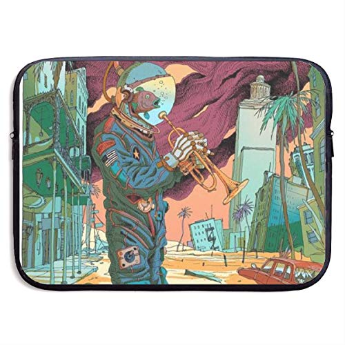 Laptop Sleeve MacBook 13 Inch 15 Inch Tablet Carrying Case Cover Astronaut City Resident Evil Neoprene Compatible Notebook Computer Bag