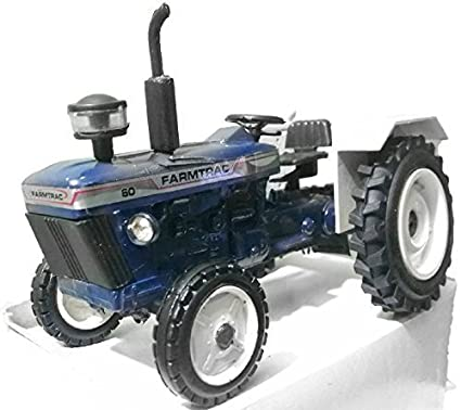 Buy Patiala toyz Farmtrac Tractor model 6in X 3in Online at Low