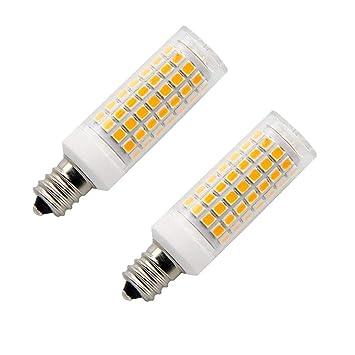 Bombillas LED E12 de 8,5 W, equivalente a 75 W, T3/T4, LED Candelabro, ...