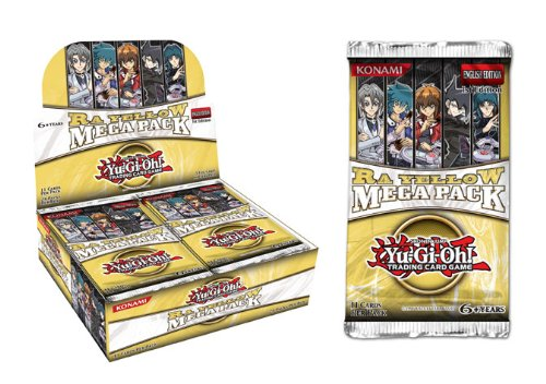 YuGiOh Ra Yellow Mega Pack Booster Box 24 Packs by Konami
