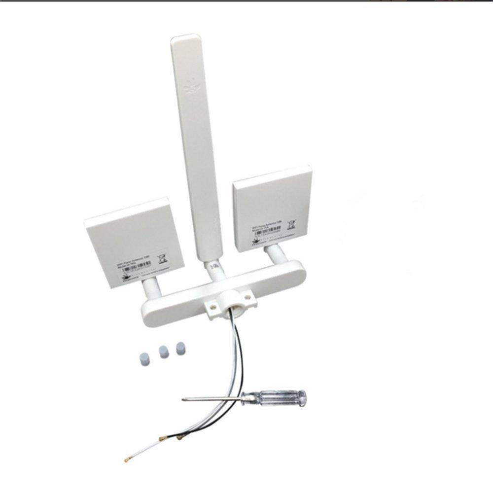 WiFi Signal Range Extender Antenna Kit 10 dBi Omni for DJI Phantom 3 Standard by XmiPbs (WF12)