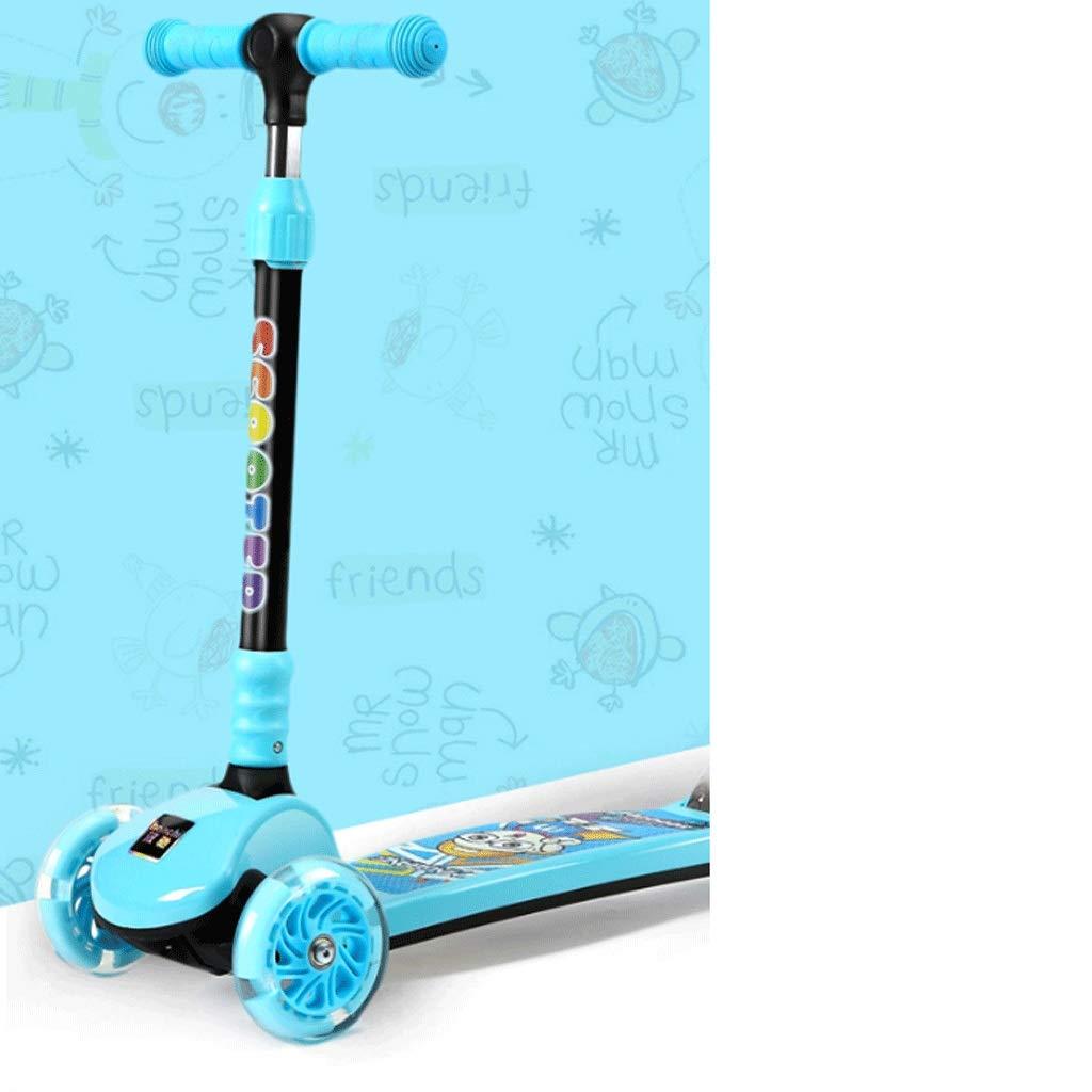 納得できる割引 WangYi スケートボード- さいず 子供フラッシュスケートボード3-14歳の男の子の女の子折りたたみスクーター 67x77cm (色 : 青, サイズ サイズ さいず : 67x77cm) B07NMXTGB9 青 67x77cm, チノシ:f6e7e5dc --- a0267596.xsph.ru