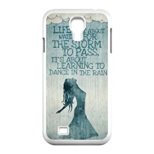 Chinese Life isn't about waiting for the storm to pass High Quality Cover Case for SamSung Galaxy S4 I9500,Custom Chinese Life isn't about waiting for the storm to pass Cell Phone Case