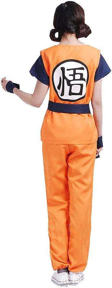 Costume Cosplay Dragonball Son Goku Gohan Dragon Ball Super Sayan LogoGO