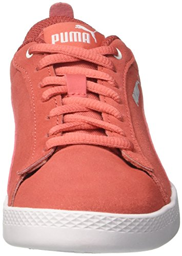 Coral V2 Smash Wns Coral Puma Rojo Zapatillas Mujer spiced spiced Sd Para 6g4wwP
