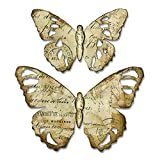 Sizzix 664166 Tattered Butterfly Dies One Size Multicolor
