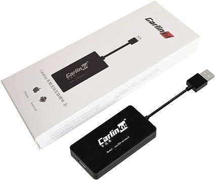 Carlinkit Wireless Dongle carplay USB con Cable Android Auto/Pantalla Espejo/iOS 13/actualización en línea/SIRI Voz/Google Maps Waze, para una Segunda Mano de Android Radio del Coche no una Radio OEM: Amazon.es: Electrónica
