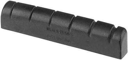 Graph Tech PT-6010-00 BLACK TUSQ XL Cejuela Cejilla Ranurada para ...