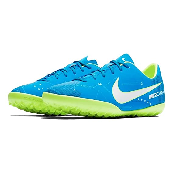 Nike JR Mercurialx VCTRY Vi NJR TF - Zapatillas de fútbol de Neymar Jr, Unisex Infantil, Azul - (Blue Orbit/White-Blue Orbit-Armory Navy): Amazon.es: ...