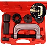 Ball Joint Service Tool Kit – Universal Remover and Installer for 2wd and 4wd Vehicle –