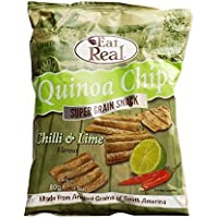Eat Real Quinoa Chilli & Lime Flavoured Chips - 80g