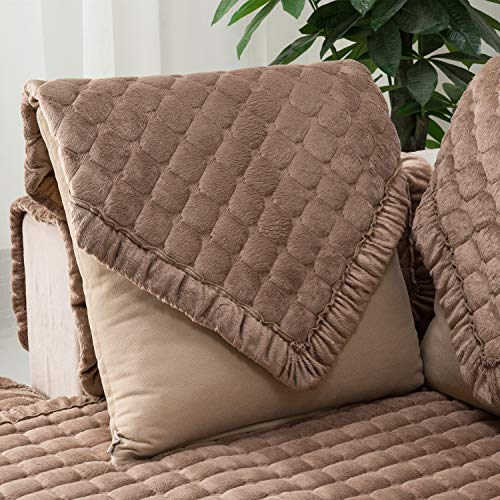 Ostepdecor Multi Size Pet Dog Couch Square Soft Quilted