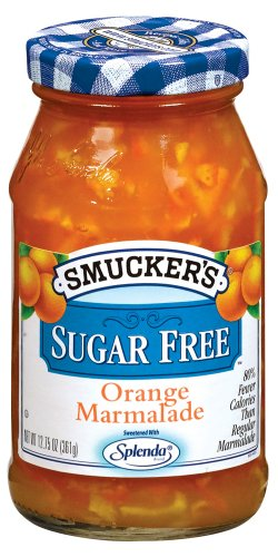 Smucker's  Sugar Free Orange Marmalade, 12.75-Ounce (Pack of 6)