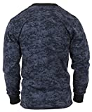 Rothco Long Sleeve Digital T-Shirts, Midnight Digital Camo, Large