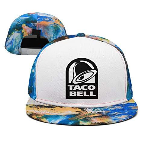 iorty rtty Cap Adjustable Pattern Black-Taco-Bell- Designer Baseball Hat ()