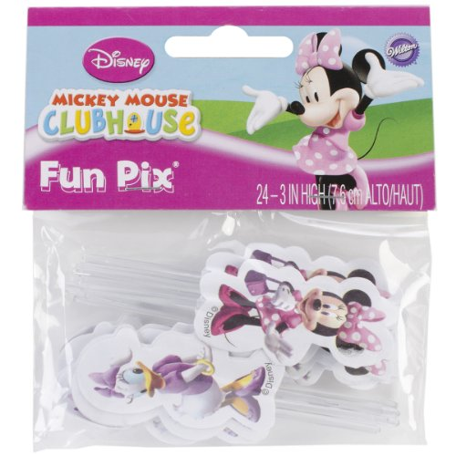 Wilton Minnie Mouse/Daisy Duck Cupcake Fun Pix, 24