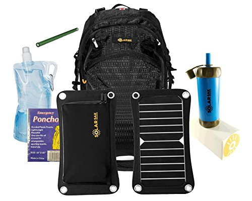 Solar Panel Hiking Backpack - 3