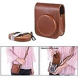 Docooler Vintage Pu Protective Camera Case Bag Bolsa Capa Protector W/Strap Para Fujifilm Instax Mini 90 Câmera De Filme Instantâneo