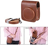 Docooler Vintage Pu Protective Camera Case Bag Bolsa Capa Protector W/Strap Para Fujifilm Instax Mini 90 Câmer