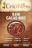 Crio Raw Organic Cacao Nibs - Gluten Free Vegan Whole-30, 1 lb bag