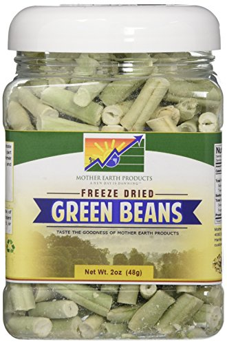 - Mother Earth Products Freeze Dried Green Beans, quart Jar