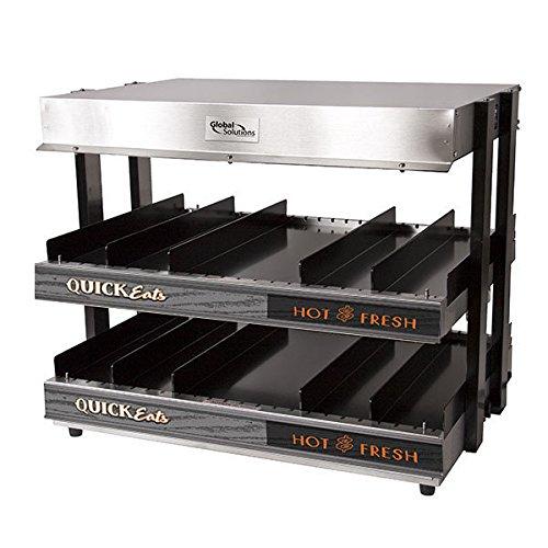 TableTop King GS1300-24 21'' 2 Shelf Heated Merchandiser - 120V, 1500W by TableTop King
