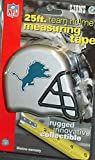 DuraPRO NFL Detroit Lions 25 Foot Team Helmet Measuring Tape, NEW