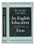 Front cover for the book English Education: A Perspective of Eton by Richard Ollard