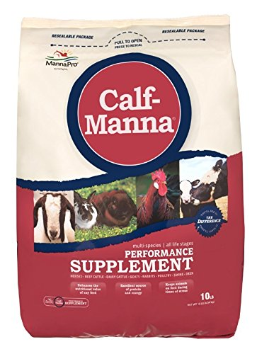 Manna Pro 10 lbs. Calf Manna Ultimate Performance Supplement for All Stages. by RJ Matthews