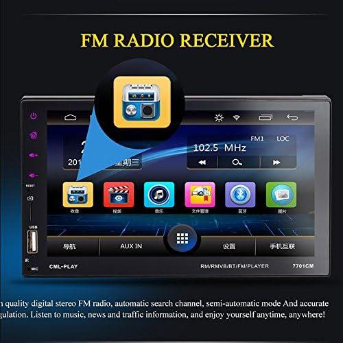 eaglerich車ラジオ2DIN 7