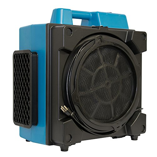 XPOWER X-3380 Pro Clean Eco Washable Filter 4 Stage Filtration Purifier System, Negative Air Machine, Airbourne Cleaner, Scrubber for Home and Commercial (600 Cfm Pro Motor)