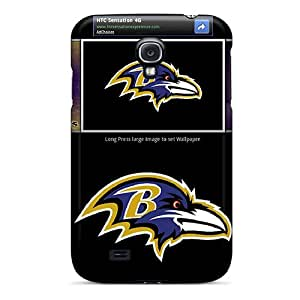 New Shockproof Protection Case Cover For Galaxy S4/ Baltimore Ravens Case Cover