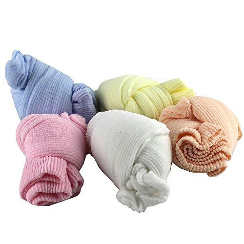 5 Packs Candy Socks Toddler Baby Boys Girls Soft Summer Net Socks 0-2 Years