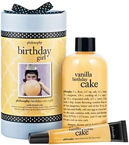 Buy Philosophy Birthday Girl Vanilla Cake Gift Set Online At Low Prices In India