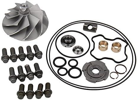 Powerstroke 7.3L Turbo Banks Compressor Wheel /& Upgraded Rebuild Kit TP38 GTP38